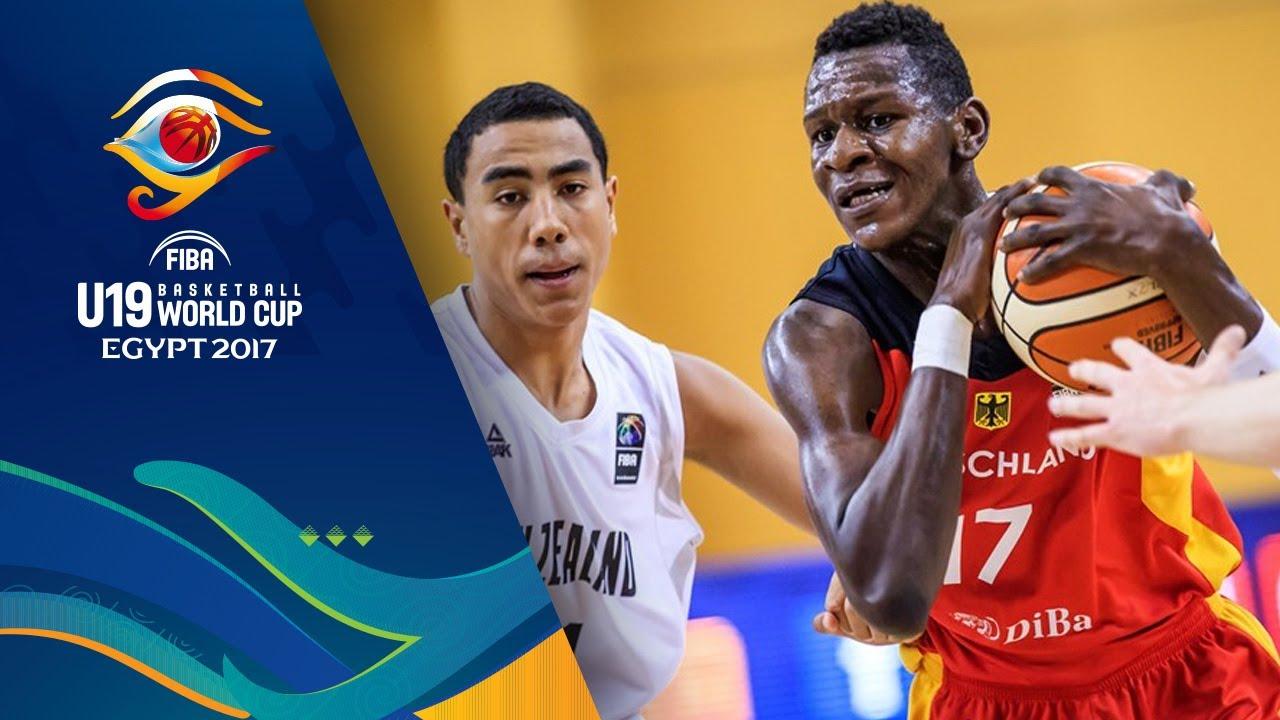 New Zealand v Germany - Highlights - Round of 16 - FIBA U19 Basketball World Cup 2017
