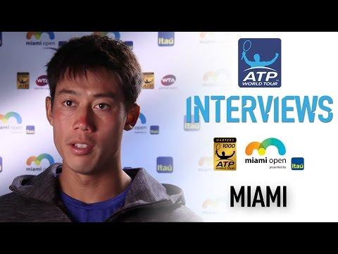 Nishikori Discusses Verdasco Battle In Miami 2017