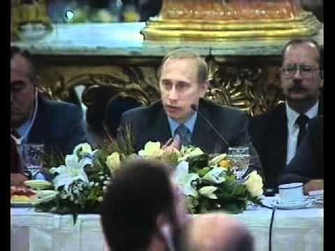 Путин припечатал Гусинского