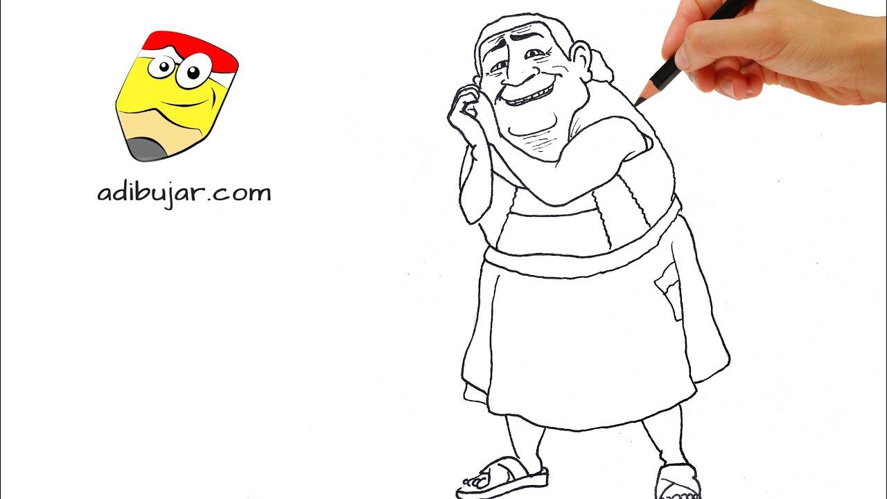 Coco Disney Pixar Cómo Dibujar A La Abuelita A Lápiz Fácil Paso A Paso