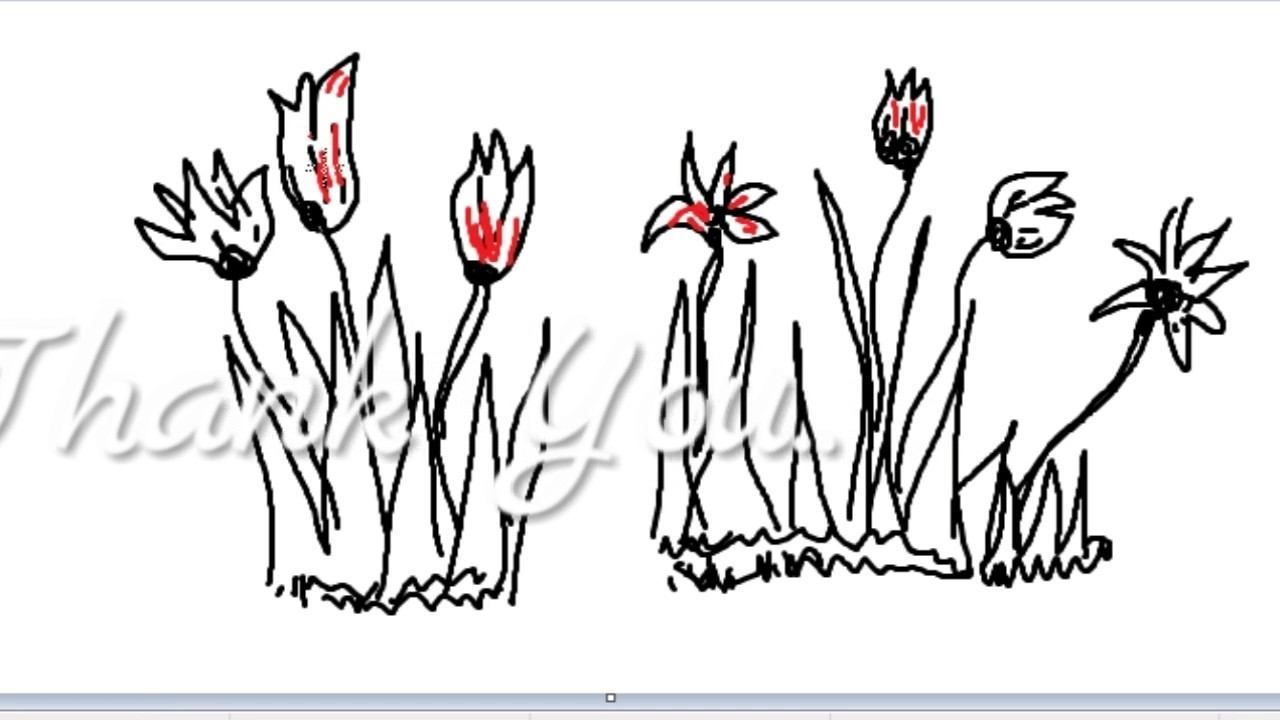 how to draw savanna grass