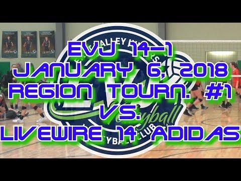 AZ EVJ 14-1, January 6, 2018, vs. Livewire 14 Adidas