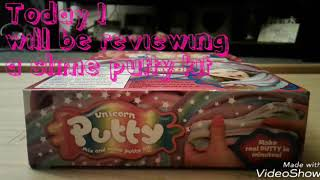 Unicorn Putty/Review Worst slime