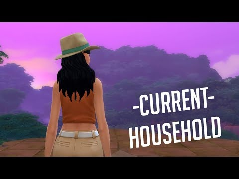 MENDOZA CURRENT HOUSEHOLD // The Sims 4 Jungle Adventure