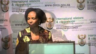 Say no to xenophobia: Nkoana-Mashabane