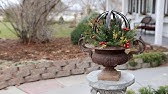 Filling Up My Urns For Christmas Garden Answer Youtube