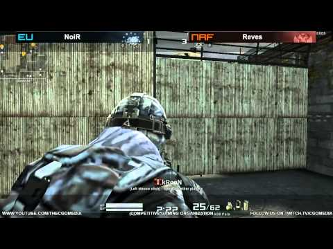 CGO AVA - NoiR vs Reves (Grand Finals) - Tournament #10 (March 23rd/24th - 2013)