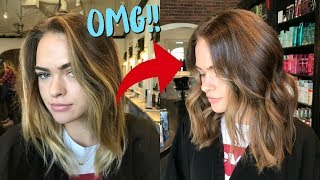 Dyeing my Hair Brown & Opening PR Packages! (Vlogmas Day 5!) | Summer Mckeen