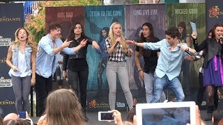 """Set It Off"" dance-along with Descendants cast during Fan Event at Disneyland"