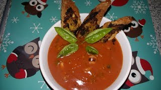 Томатный суп с морепродуктами | Отличное блюдо на Новый Год и праздники |