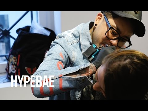 Celebrity Tattoo Artist JonBoy Delves into Fashion