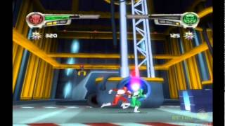 Power Rangers Super Legends PS2 Multiplayer Gameplay (Disney/Bandai) Playstation 2