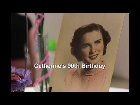 Catherine's 90th Birthday