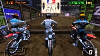 MTX Mototrax Supercross 125cc Series PS2