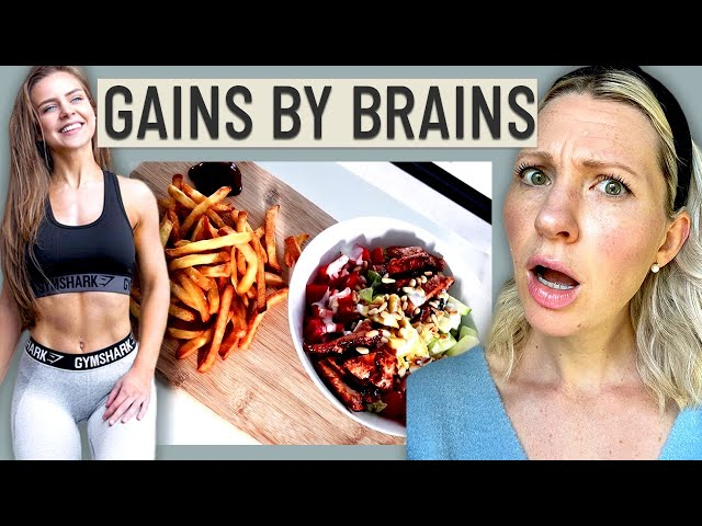 Dietitian Reviews Gains by Brains Diet (Healthy Relationship with Food or Diet Culture?!)