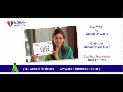 SUPPORT ORGAN DONATION - RAVEENA TANDON