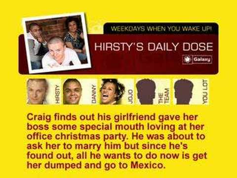 Danny Dumps: Angie. Cheating girl dumped live on radio