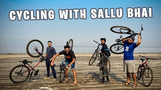 Cycling With Sallu Bhai | Vlog 18 | Dhruv & Shyam
