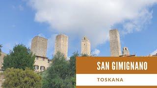 Toskana mit Kastenwagen Pössl Roadcar - 3  San Gimignano