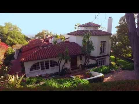 John Barrymore's Beverly HIlls Estate   1500 Seabright Pl