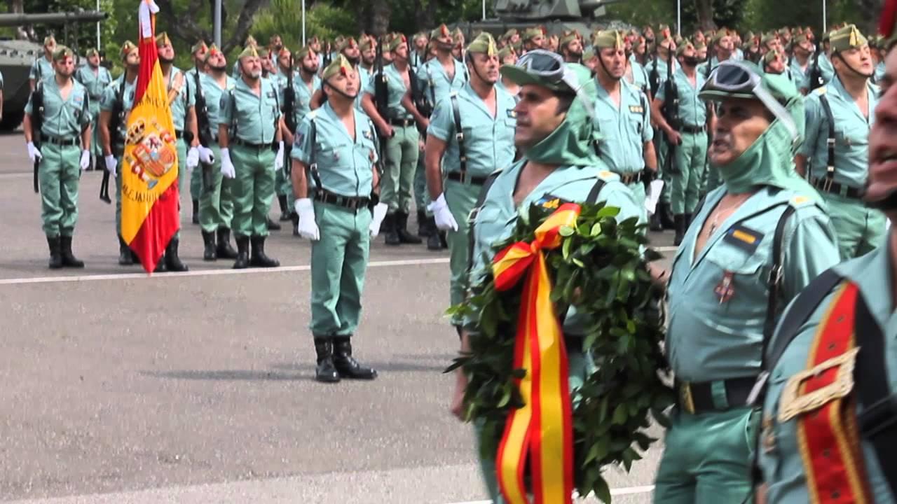 Jura de Bandera en el IV Tercio Alejandro Farnesio de Ronda - \'El Novio de  la Muerte\'