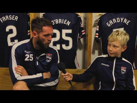 Ross County FC - Jim O'Brien - Niall Bolger Interview