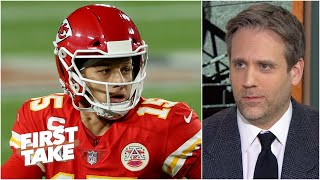 """Max says the door isn't shut on Patrick Mahomes being """"the GOAT"""" 