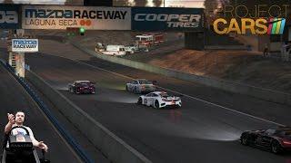 Самая зашкварная гонка Сония на BMW M3 GT - Project CARS на руле Fanatec CSL Elite