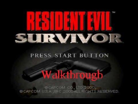 Resident Evil Survivor - Streets, Library, Sewer