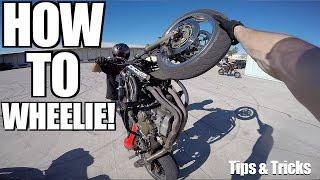 How To Slow Wheelie Tutorial! - Bike Reveal!