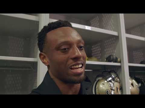 New Saints cornerback Eli Apple talks about being on the field for win over Vikings