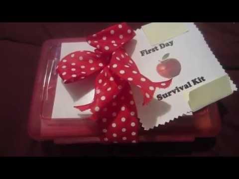 Teacher Survival Kit/ Gift Craft Idea