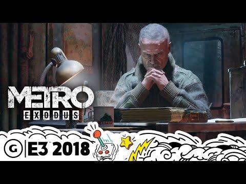 Metro Exodus Extended New Features Gameplay Demo | E3 2018