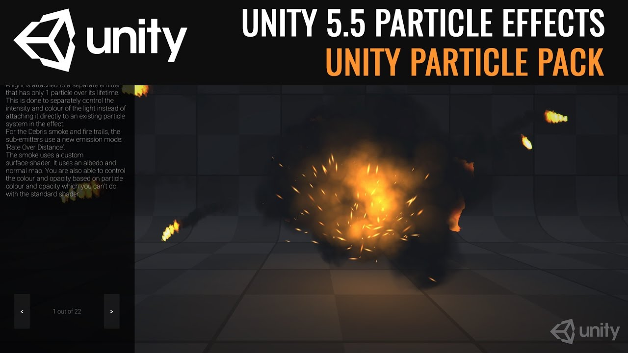 Unity VFX Particle Effects Pack - Overview (Unity 5 5)   Assets Unpack