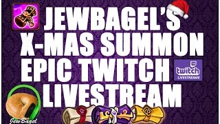 summoners war jewbagel s epic christmas summoning livestream vod
