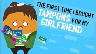 The First Time I Bought Tampons For My Girlfriend | Animated Story Time | fortheloveofLance