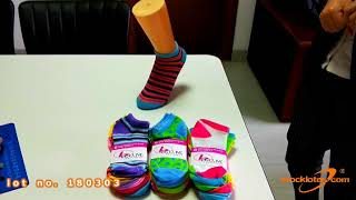 180303 VIDEO CLIP FOR WOMENS POLYESTER SOCKS
