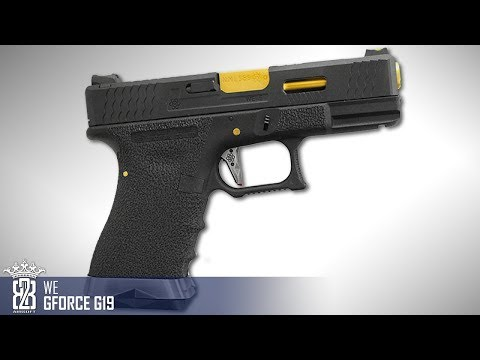 *Airsoft Review * WE GForce G19 | Deutsch - English Subtitle