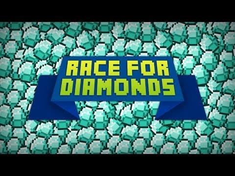 Minecraft Race For Diamonds