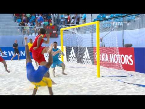 Match 7: Brazil v Tahiti - FIFA Beach Soccer World Cup 2017