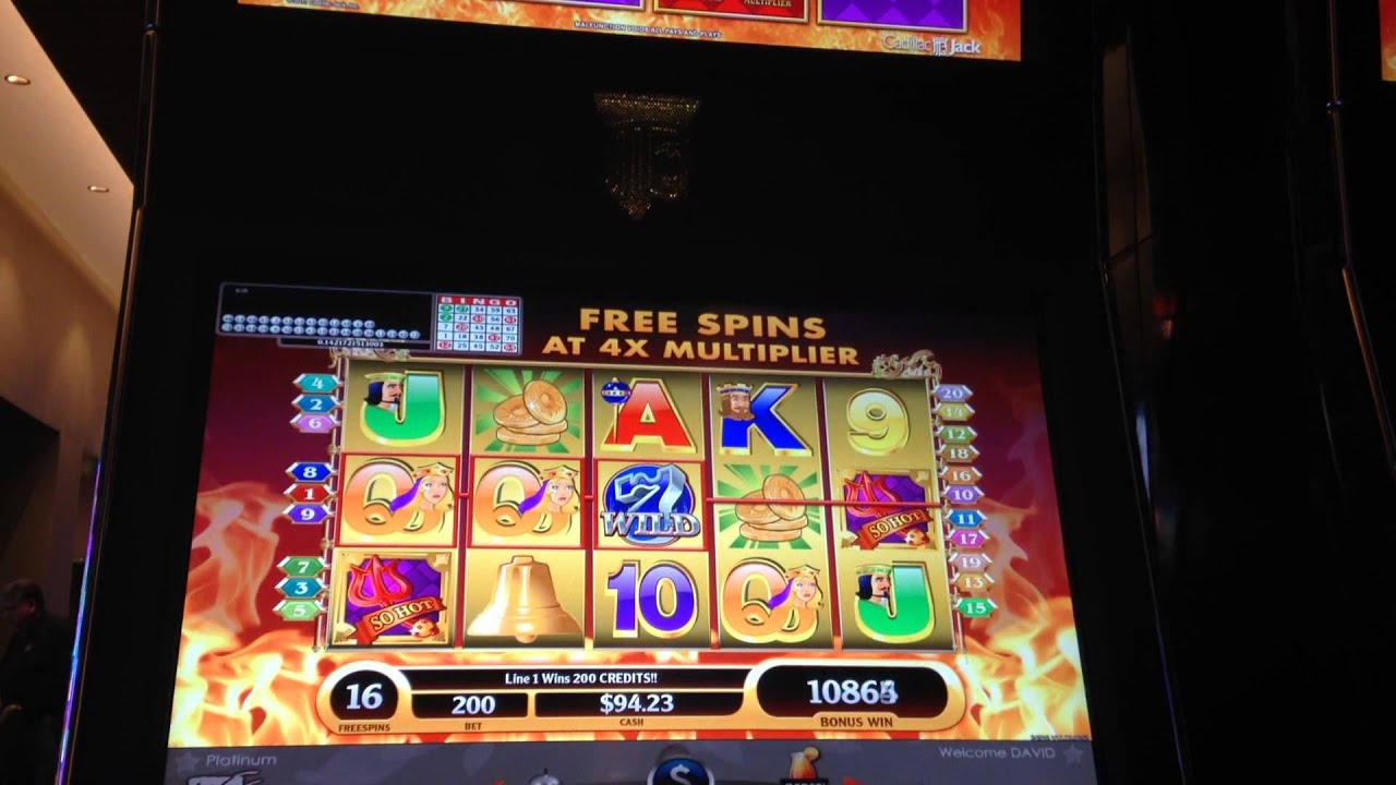 So Hot Slot Machines