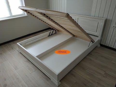Изготовление кровати с подъемным механизмом