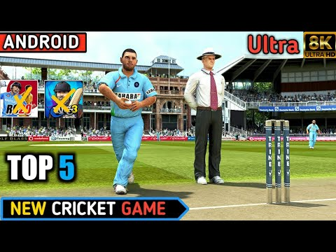 Top 5 New Best Android Cricket Game Ultra Graphic
