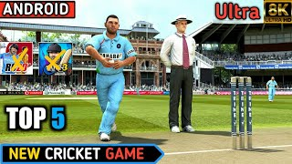 Top 5 New Best android cricket game Ultra graphic screenshot 3