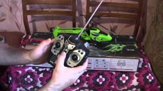 Тест и обзор вертолета на радиоуправлении.