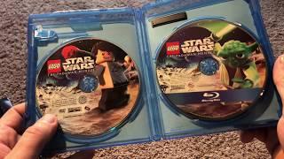 КОНКУРС. Распаковка набора видео дисков Lego Star Wars: The Padawan Menace.