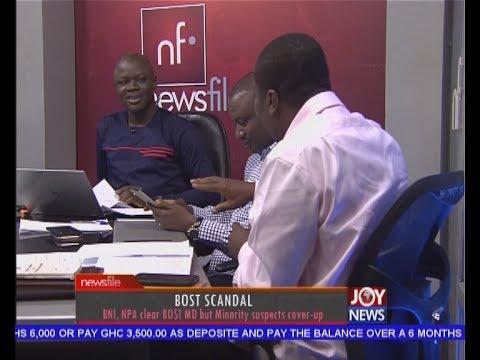 BOST Scandal - Newsfile on JoyNews (8-7-17)