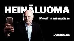 Heinäluoma – Maailma minuutissa: Miksi ihmeessä ministeri Lindström syö pullaa, jossa on kivi?