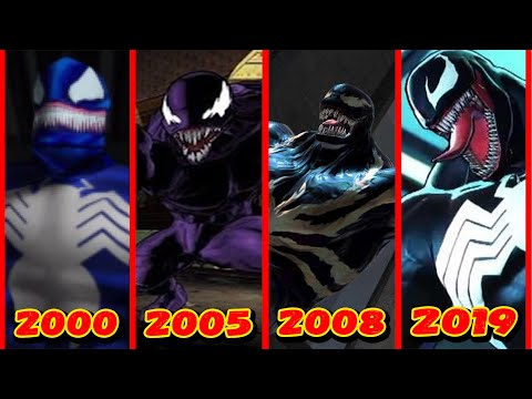 Эволюция Венома в играх (2000-2019)