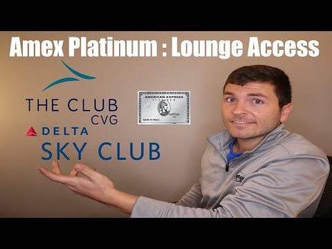 American Express Platinum Benefit: Airport Lounge Access